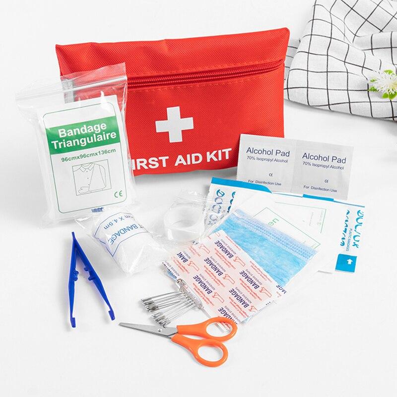 Venda quente 12 tipos de emergência kit sobrevivência mini kit de primeiros socorros da família esporte kit viagem em casa saco médico carro ao ar livre kit primeiros socorros