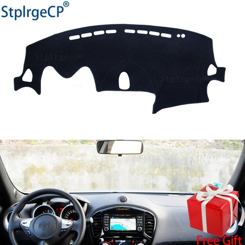 For Nissan JUKE F15 2011 2012 13 14 15 16 17 18 2019 Dashboard Mat Protective Pad Shade Cushion Pad Interior Sticker Accessories