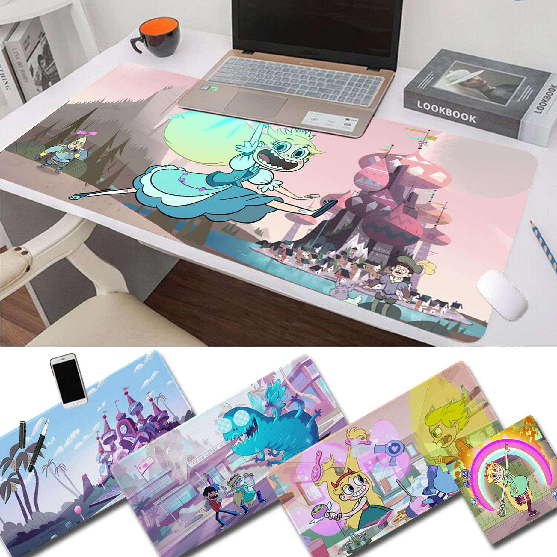 Maiya Anime Star Vs The Forces Of Evil Gamer Speed Mice Retail Small Rubber Mousepad Free Shipping Large Mouse Pad Keyboards Mat