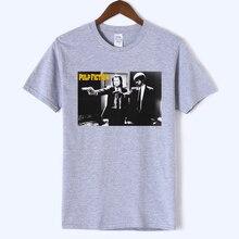 2019 New Summer Banksy Star Wars Pulp Fiction Hip Hop Men T-shirt Top Harajuku Mans T-shirts Cotton white Short Sleeve tshirt