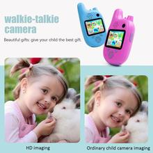 Children'S Double Camera Cartoon Walkie-Talkie Mini Children'S Digital Camera Fun Walkie-Talkie Camera