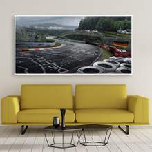 Wall Art Poster Nurburgring Rally Road Sports Car Track HD Print Canvas Painting Forest Landscape Living Room Home Decor Picture