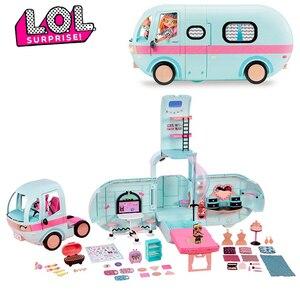 Сюрприз л. О. Л. Набор игрушек-сюрпризов LOL, куклы lol, сделай сам, 2 в 1, автобусная игрушка, кукла Lol, игра в дом, игрушки для lol, подарки на день рож...
