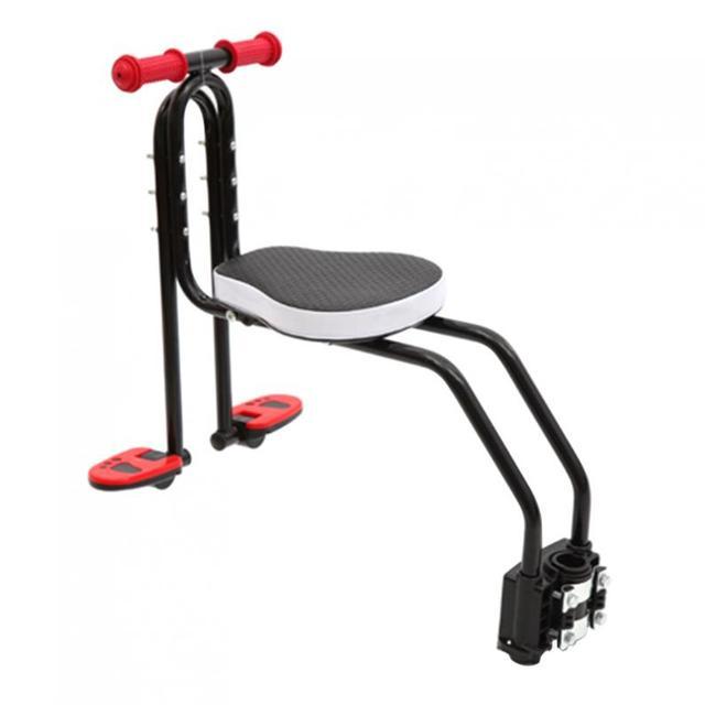 Vélo enfant siège de sécurité enfant vélo avant chaise adapté pour 2.5-6 ans bébé