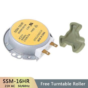 SSM-16HR AC21V 3W 50 60Hz Micro gramofon synchroniczny taca silnik kuchenka mikrofalowa akcesoria części zamienne sprzęgło sprzęgła tanie i dobre opinie CN (pochodzenie) Części kuchenka mikrofalowa SSM-16HR 6549W1S011B AV21V 50 60 Hz Microwave Accessories Turntable Motor