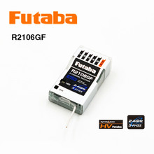Original Futaba 2.4G 6-Channel S-FHSS HV Receiver R2106GF for RC Aeromodel or helicopter