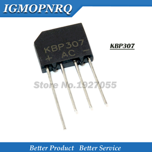 20PCS KBP307 KBP 307 3A 700V zip Flat bridge bridge rectifier 307 dip-4 Flat pile of rectifier bridge bridge new