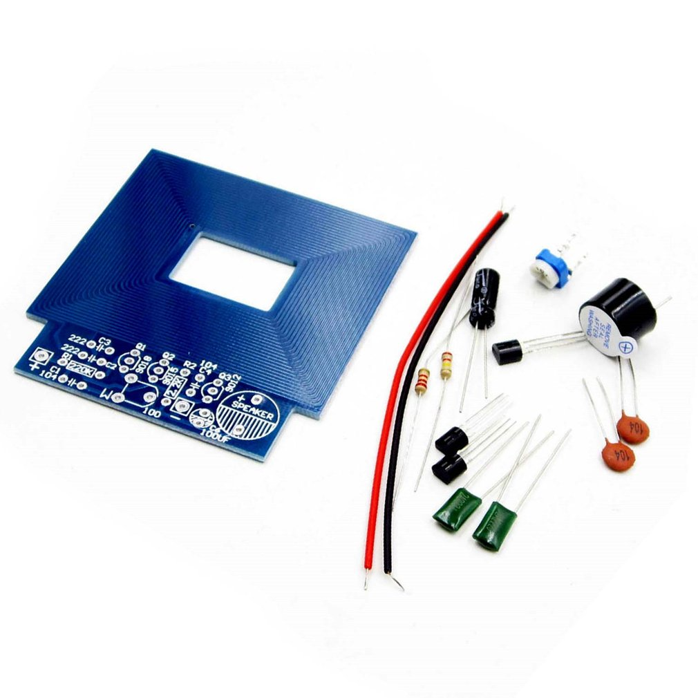 Simple Metal Detector Metal Locator Electronic Production DC 3V-5V DIY Kit Environmentally Friendly Materials