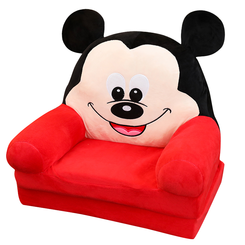 Cartoon Children's Sofa Chair Boys  Girls  Princesses  Folding Sofa Babies Learn To Sit In Baby's Little Sofa Lazy Chair|Children Sofas| |  -