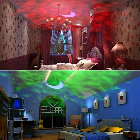 alienigena recarga led colorido ceu estrelado projetor