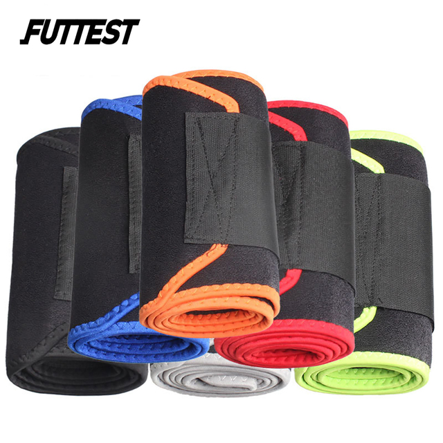Futtest Adjustable Breathable Waist Fitness Training Belt Waist Support For Sports Trimmer Belt Sweat Utility Belt Custom 4