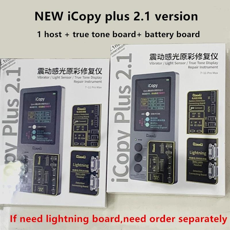 Icopy Plus 2.1 True Tone Light Sensor Battery Repair 8 X Xs Max Xr 11 Pro Max Vibrate Read/write/edit Recovery Programmer Tool Attractive Designs;