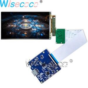 Pantalla LCD 4k de 5,5 pulgadas 3840*2160 Pantalla de Panel con Hdmi a Mipi para VR y Hmd proyector de impresora 3D proyecto diy LS055D1SX05(G)