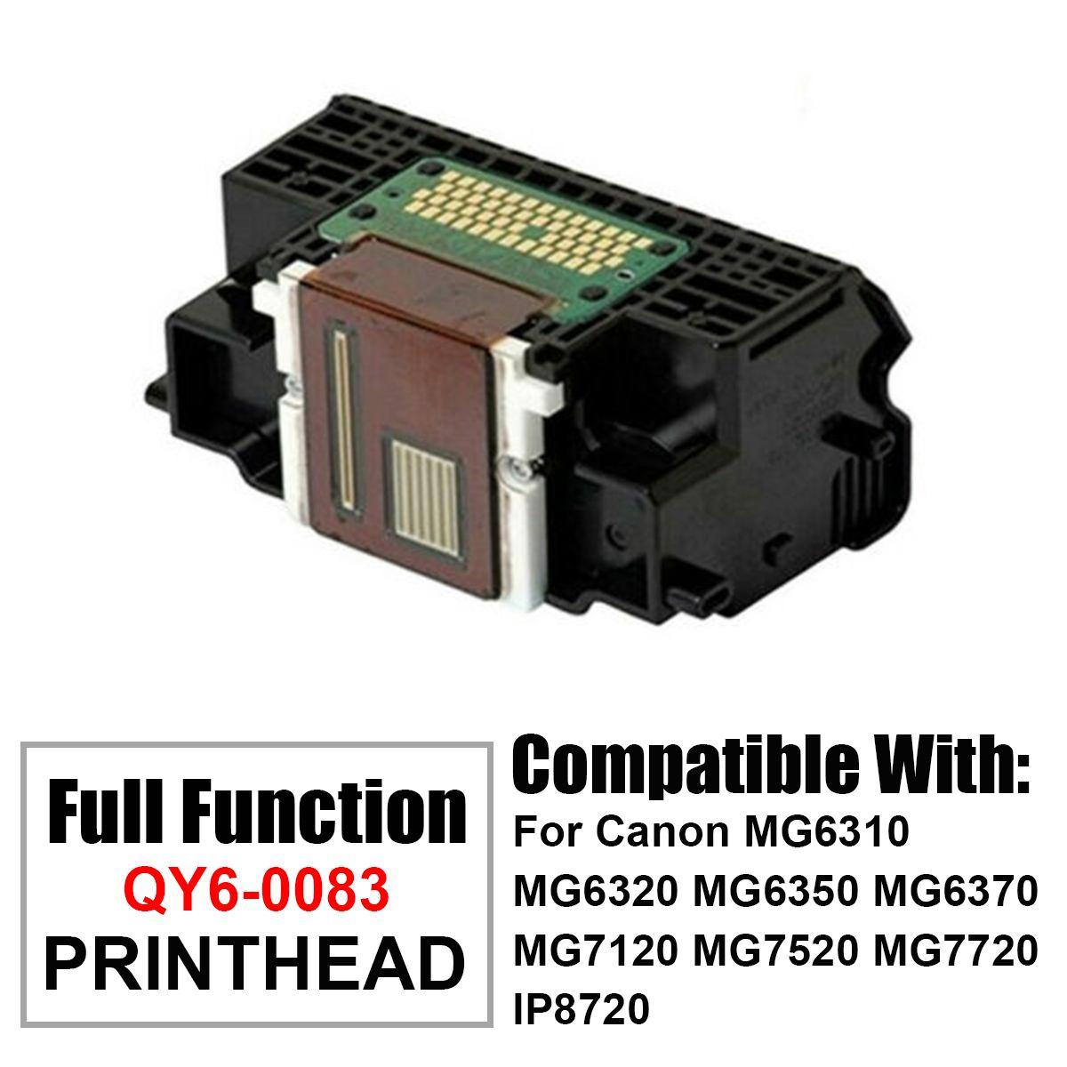 NEW 1Pcs Printhead Print Head Printer Parts For Canon QY6-0083-000 MG6320 MG7120 MG7520 MG7720 IP8720