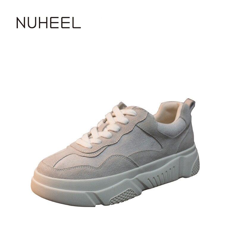 NUHEEL Women's Shoes Comfortable And Versatile Casual Shoes Women's Spring New Tide Shoes кроссовкидляженщин