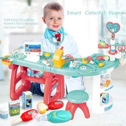 Children Toys Pretend Play Multifunctional Doctor Medical Clinic Composite Medical Tool Set