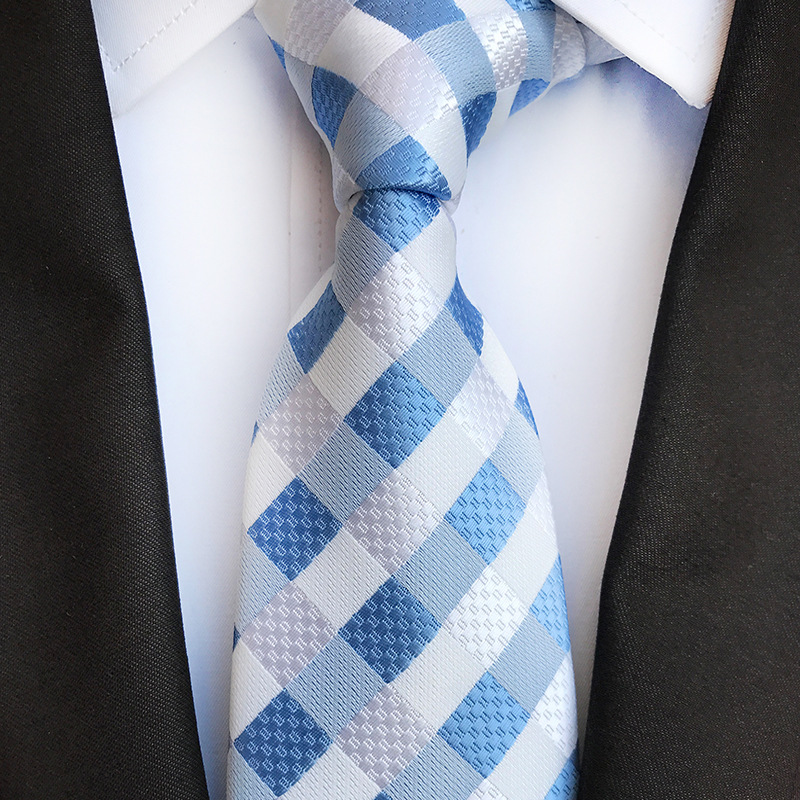 Luxury Man Necktie With High-grade Polyester Jacquard Men's Ties For Formal Business Party