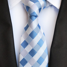 Luxury Man Necktie with High-grade Polyester Jacquard Men's Ties