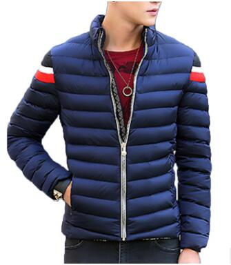 New Style  Cotton Garment Personality Jacket Male Han Version Of Thick Youth Short Style Cotton Jacket Quality Tampon Tech