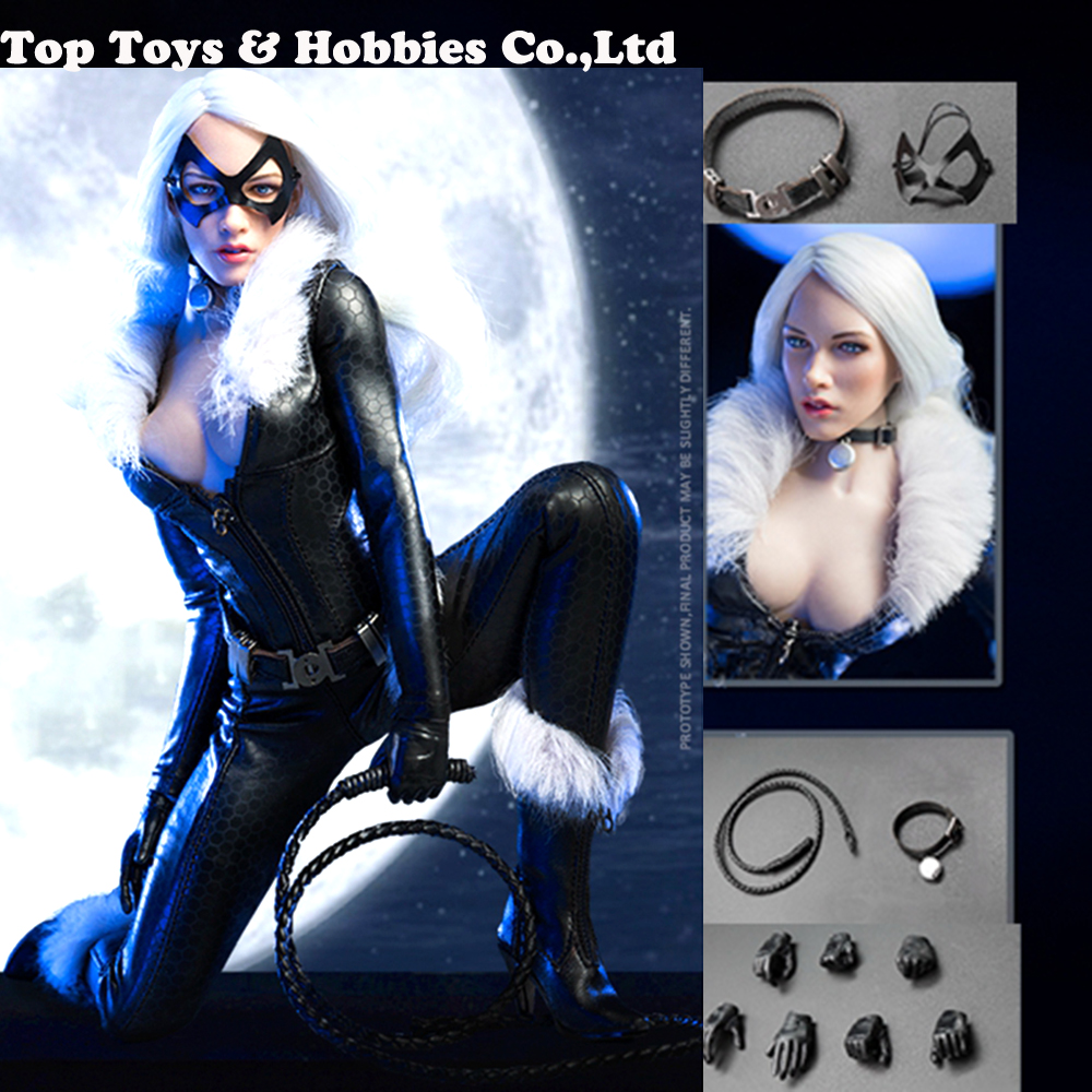 """VeryCool VCF-1001 1//6 Scale Catwoman Set Eye Mask Metal for 12/"""" Figure"""