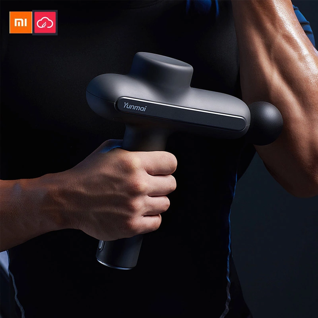 Xiaomi Yunmai Muscle Massage Pistol Pro Basic 60W Powerful 12mm Deep Tissue Massager Workout Runing Therapy Muscle Pain Relief