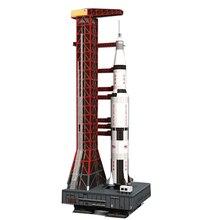 37 см 1:300 Сатурн V ракета бумажная модель «сделай сам» головоломка руководство пространство 3D бумага Оригами художественная игрушка