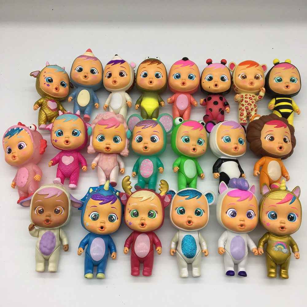 Cry Babies Dolls To Baby Boy Girls Toys Children Doll It Will Shed Tears When You Water As Birthday Gift For Children