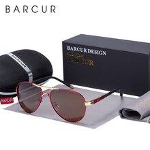 BARCUR 남자 선글라스 운전 UV400 보호 남성 태양 안경 Polarized Women Eyewear UV400 Gafas De Sol Shades