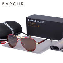 Barcur男性のサングラス駆動UV400保護男性サングラス偏光女性眼鏡UV400 gafasデゾルシェード