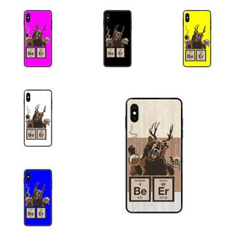 Soft Phone Coque Chemistry Bear Discovered Beer For Galaxy A10S A20 A20S A20E A21S A30 A30S A40 A50 A70 A71 A70E A5 A6 A7 A8 A10 image