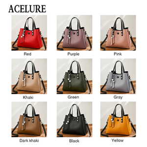 Image 4 - ACELURE Luxury Handbags Women Bags Designer New Fashion PU Leather Women Bag Woman Tote Bags for Women Casual Ladies Hand Bags