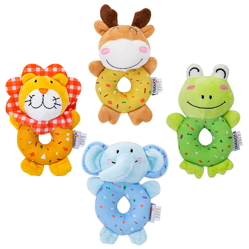Baby Toys Doughnuts, Hand Ringing, Baby Grasping Molars, Baby Ringing, Mother And Baby Toys