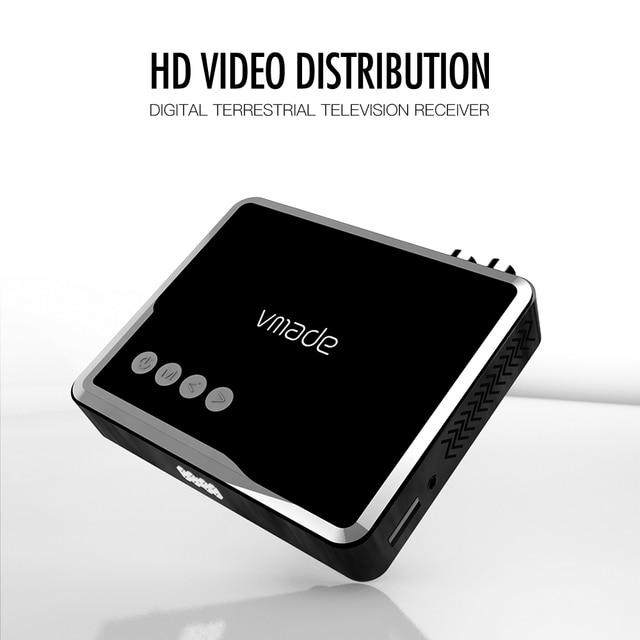 Receptor de tv hd h.265 dvb t 1080/4 suporta áudio do youtube inteiramente p digital terrestre decodificador de receptor MPEG 2 caixa de tv
