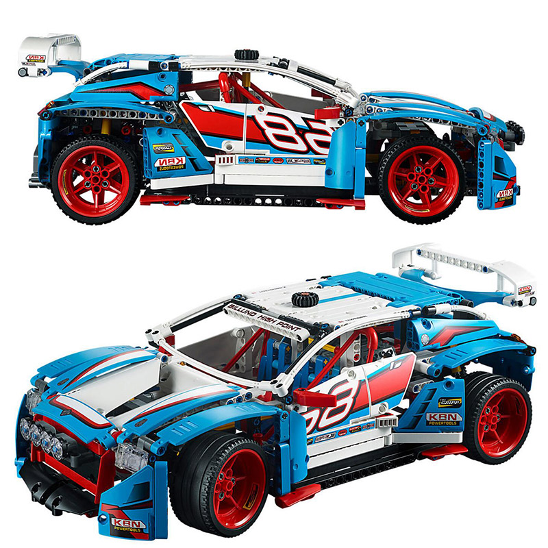 10826 1101pcs Genuine Technic Series Rally Car Building Blocks Bricks Toys Compatible With Bela 42077