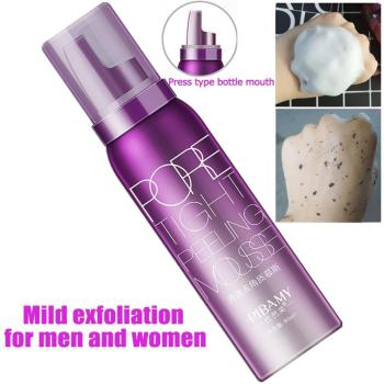 80ml Face Cleanser Removing Dead Skin Pore Tight Peeling Mousse Exfoliating Moisturizer Cleanser Oil Control Face Care 1