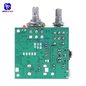 Image 2 - Diymore Módulo de tarjeta de amplificador estéreo Digital, 5V, 20W, 2,1 canales, 3D Surround, Clase D, para Arduino con cables
