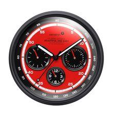 Креативные металлические настенные часы для приборной панели