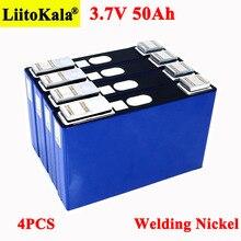 4 pces 3.7v 50ah bateria ternary lítio 50000mah para 3s 12v 24v 10s 36v 13s 48v bicicleta elétrica baterias modificação níquel