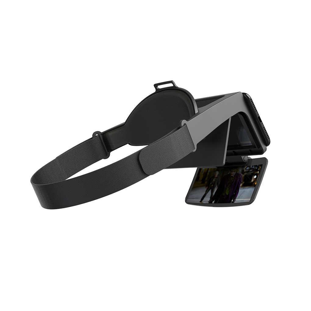 AR Smartphone gafas de realidad aumentada AR visor para iOS/Android Teléfono AR gafas ópticas auriculares para 4,7-6 pulgadas de teléfono inteligente