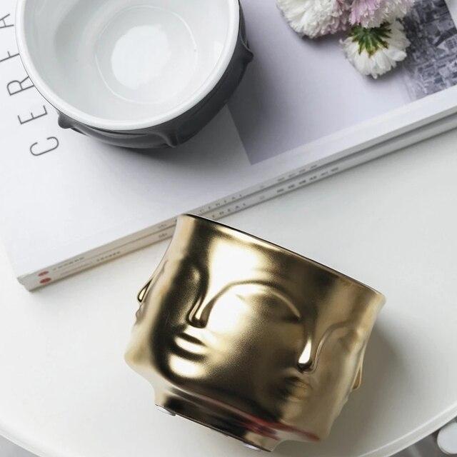 Купить скандинавское украшение керамический цветочный горшок для лица картинки цена