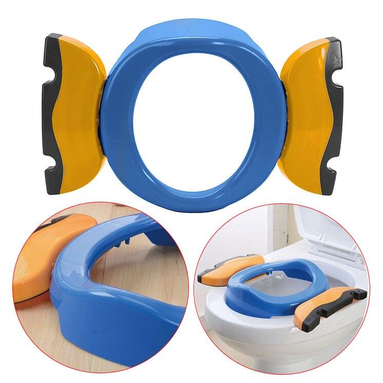 viagem potty anéis para crianças (azul)