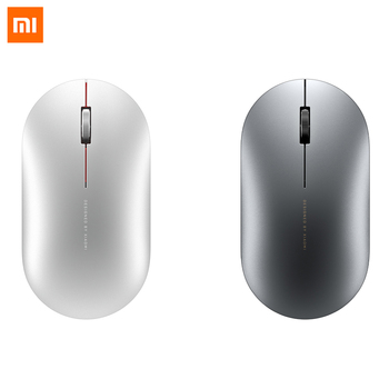 Xiaomi Mi Metal Bluetooth Mouse Fashion Wireless Mini Portable Mouse Game Mouses 1000dpi 2.4GHz USB link Optical Laptop Mouse