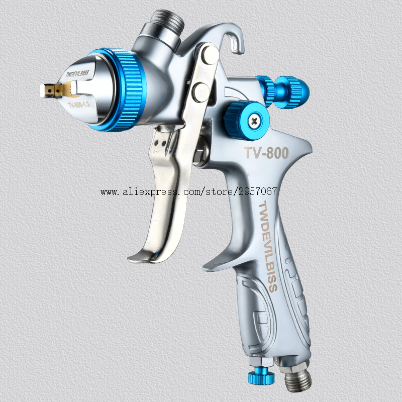 hvlp spray paint gun Car painting Gun Gravity Feed paint sanitizer automotiva airbrush paint sprayers with Isposable Paint Cup