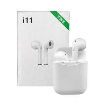 i11 TWS Headphone Wireless Earphones Earpieces Mini Earbuds Bluetooth 5.0 With M