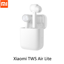 Оригинальные беспроводные наушники Xiaomi Mi True, TWS, Bluetooth 5,0 Air Lite, стереонаушники AAC с сенсорным управлением, двойным микрофоном, ENC