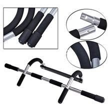 Doorway Chin Up Horizontale Bars Stahl Einstellbare Home Gym Workout Push Up Bar Training Sport Fitness Sit Ups Fitness Ausrüstungen(China)