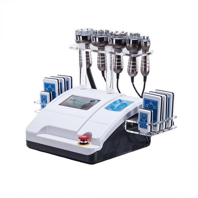 2019HOT sprzedaż!!! Liposukcja ultradźwiękowa 40K kawitacja częstotliwość radiowa próżniowe bipolarne o częstotliwości radiowej wyposażenie odchudzające