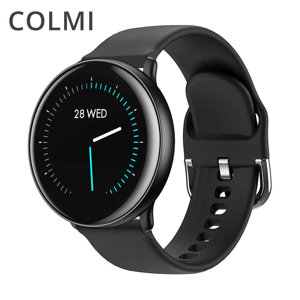 COLMI SKY 2 Smart uhr IP68 wasserdicht Heart Rate Monitor Bluetooth Frauen Sport fitness tracker Männer Smartwatch Für iOS Android