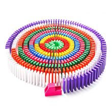 120 шт./компл. детские блок домино игрушки Красочный домино деревянные блоки для детей раннего образования играть игрушка в подарок
