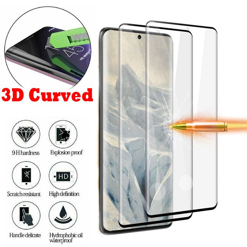 3D Full Coverage Curved Tempered Glass Screen Protector For Samsung Galaxy S10 S8 S9 Plus S20 Ultra Note 10 9 8 Protective Film|Phone Screen Protectors|   - AliExpress